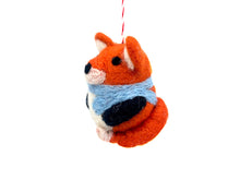 Wool Fox Ornament