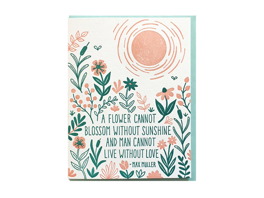 Muller Quote Greeting Card