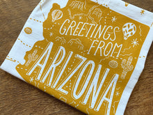Greetings from Arizona State Tea Towel