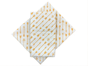 Tan Arrows Bandana