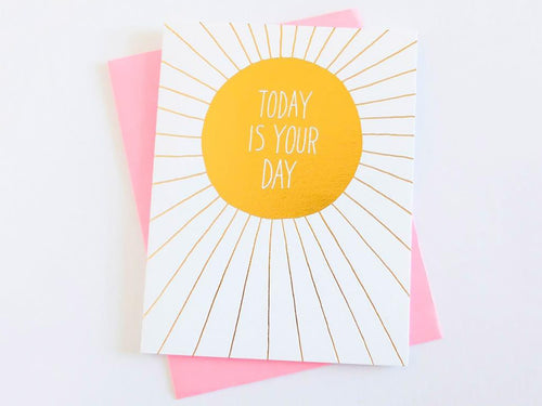 Today is Your Day, Single Card