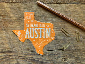 Austin Texas Sticker