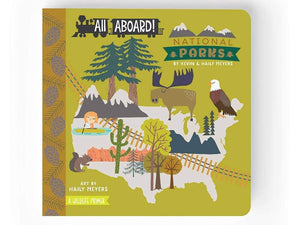 All Aboard National Parks, Children's Book