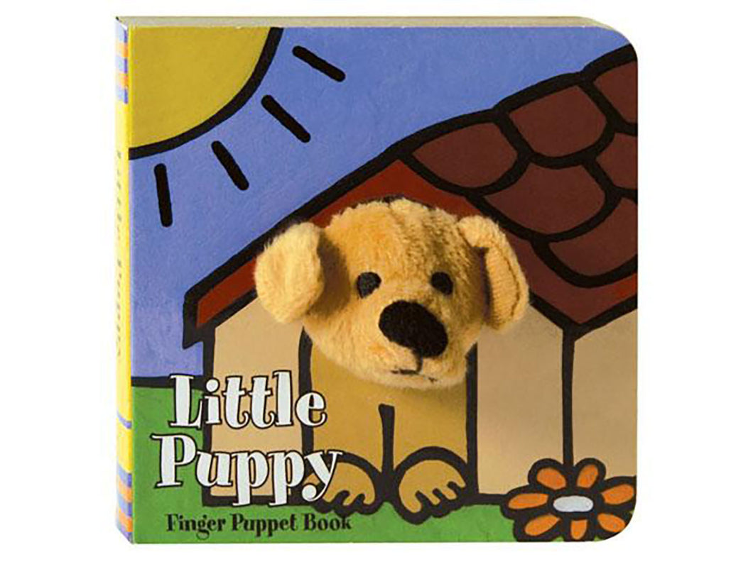 Little Pup Finger Puppet Book