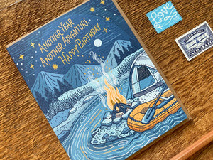 Birthday Campfire Greeting Card