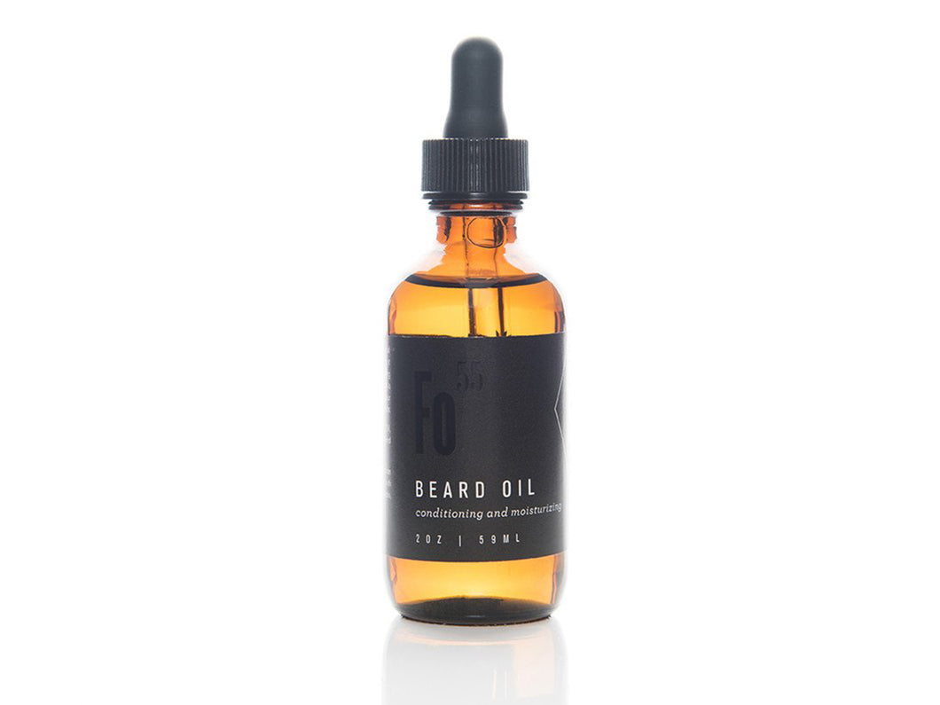 Beard Oil - 2 oz. Glass Bottle