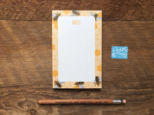 Honey Bees Pocket Notepad