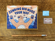 Big Hugs Bear Greeting Card