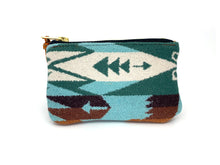 Pendleton Wool Leather Zipper Pouch