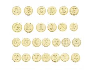 Brass Seals, Various Initials