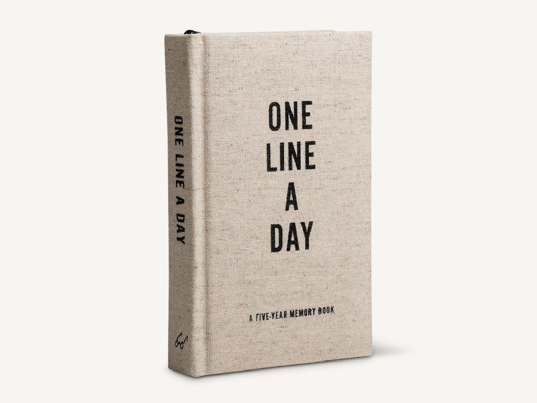 One Line A Day, Canvas Cover
