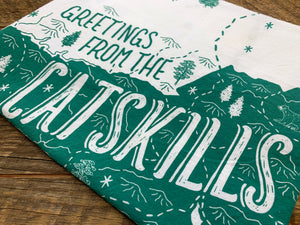 Catskills Tea Towel