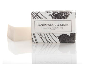 Sandalwood & Cedar Bath Bar