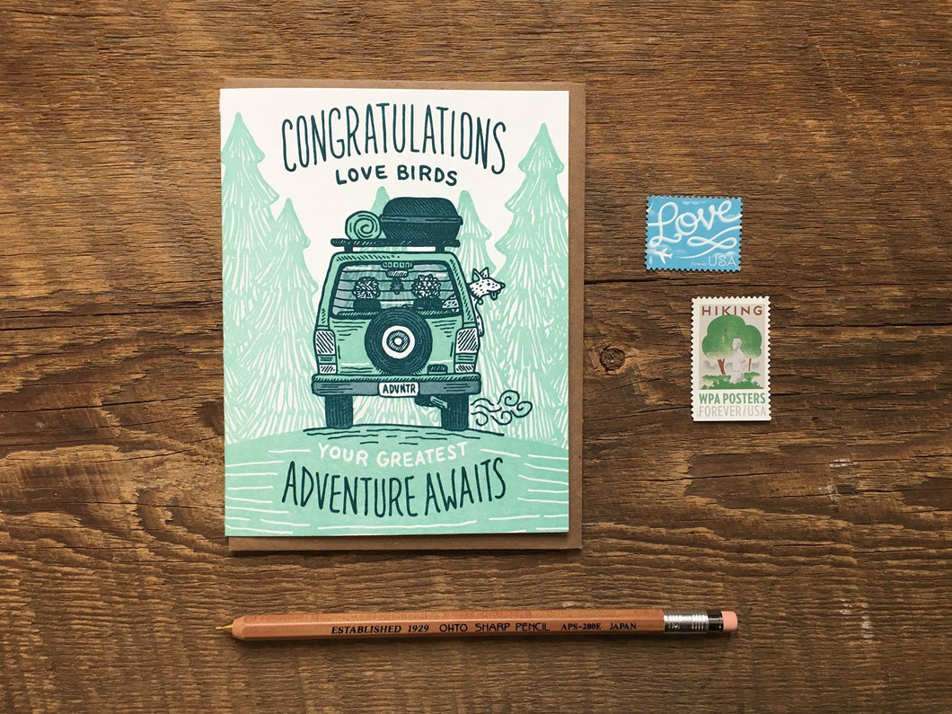 Congrats Adventure Greeting Card