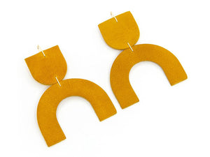 Cozumel in Marigold, Earrings