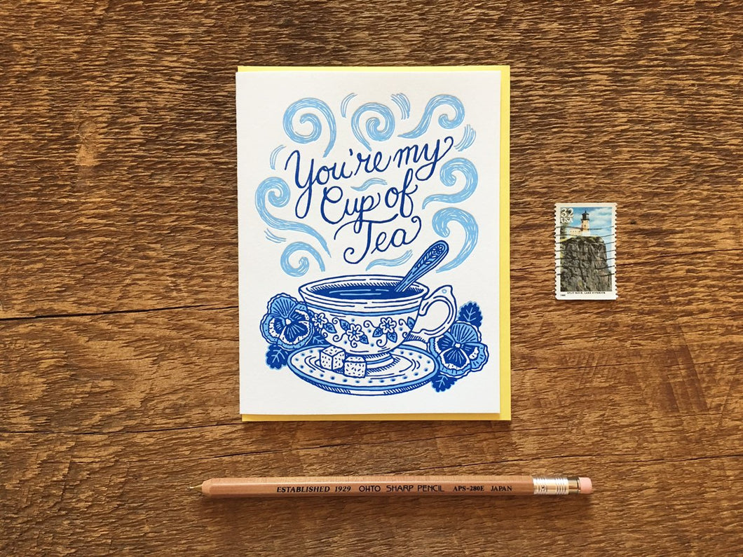 Cup of Tea Greeting Card