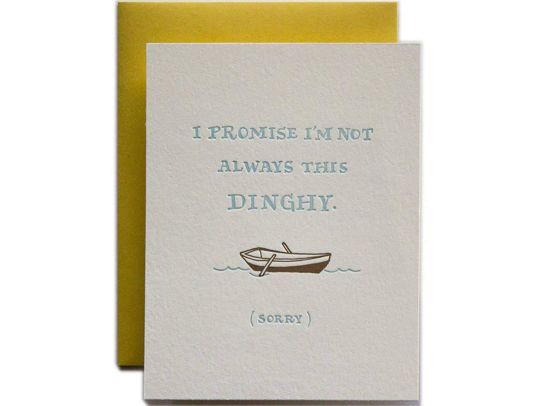 I'm Not Always This Dinghy, Single Card
