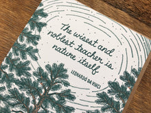 Da Vinci Quote Greeting Card