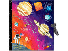 Space Adventure Journal with Lock