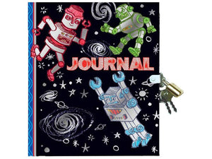 Robots Journal with Lock