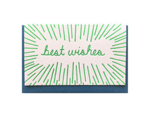Best Wishes Enclosure Card