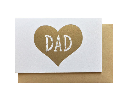 Dad Heart Enclosure Card