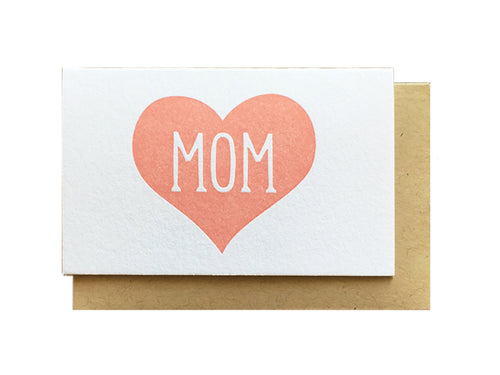 Mom Heart Enclosure Card