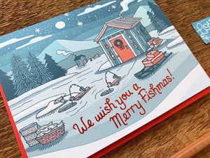 Merry Fishmas Greeting Card