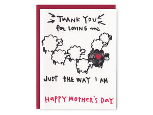 Black Sheep Mother's Day, Single Card