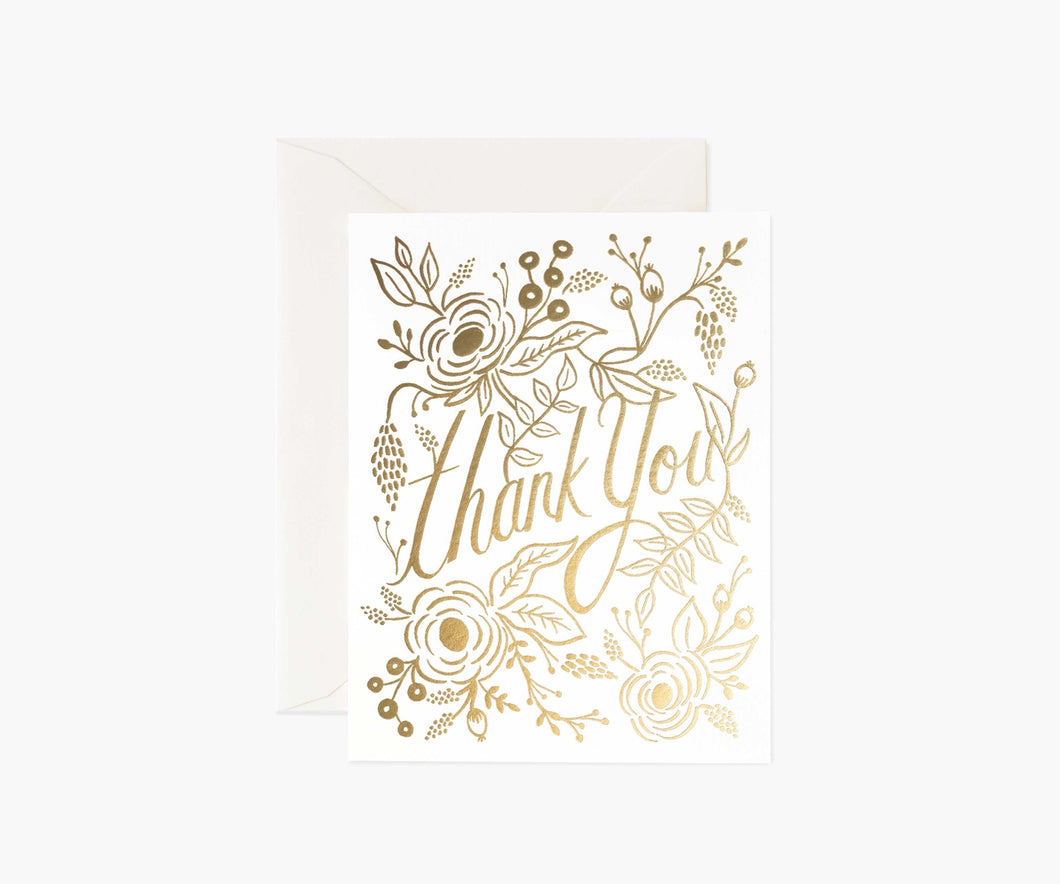 Marion Thank You Cards, Boxed Set of 8