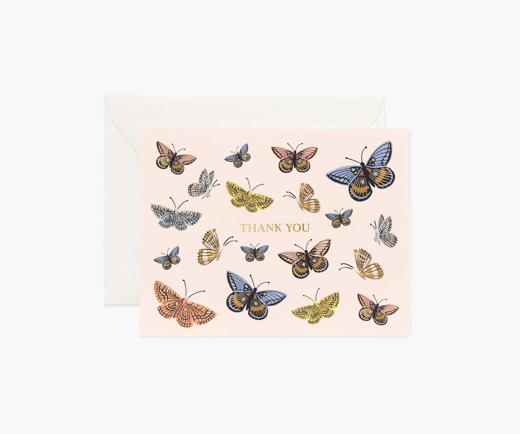 Monarch Thank You Card, Boxed Set of 8