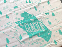 Glacier National Park Tea Towel