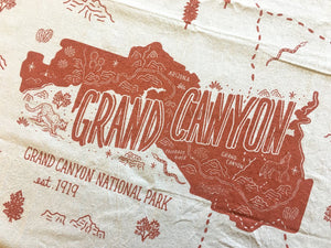 Grand Canyon National Park Tea Towel