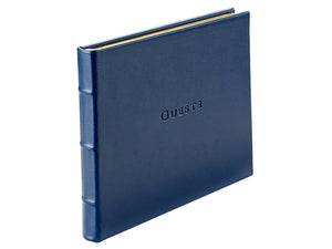 Guest Book, Blue Leather