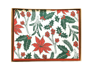 Holiday Flora Greeting Card