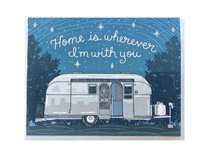 Home With You Greeting Card