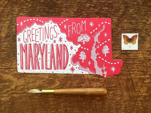 Greetings from Maryland