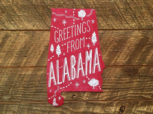 Greetings from Alabama