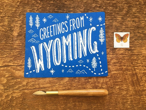 Greetings from Wyoming