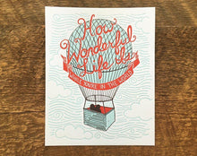 How Wonderful Art Print