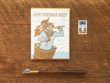 Birthday Matey Greeting Card