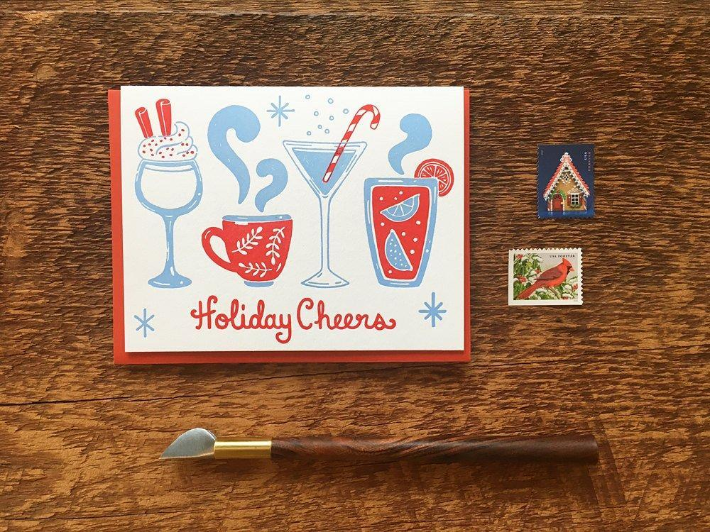 Holiday Cheers Greeting Card