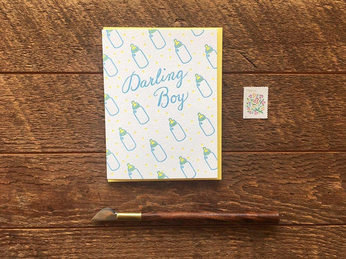 Darling Boy Greeting Card