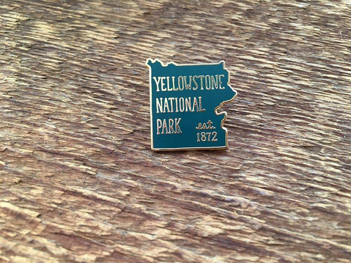 Yellowstone National Park Enamel Pin