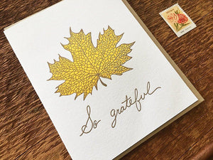 So Grateful Greeting Card