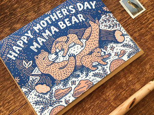 Mama Bear Greeting Card