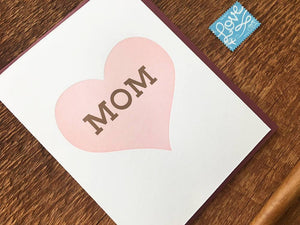 Heart Mom Greeting Card