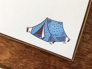 Camping Flat Stationery