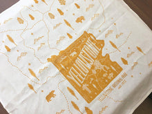 Yellowstone National Park Tea Towel