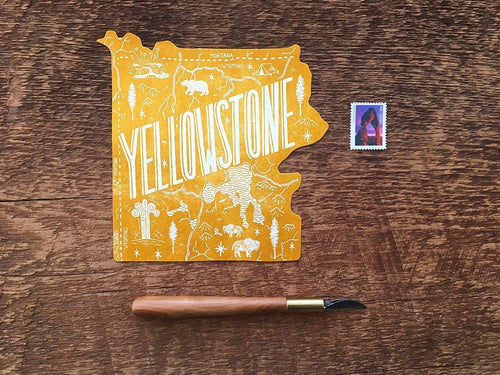 Yellowstone National Park Postcard